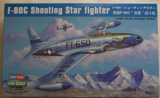 Hobbyboss 1/48 81725 Lockheed F-80C Shooting Star